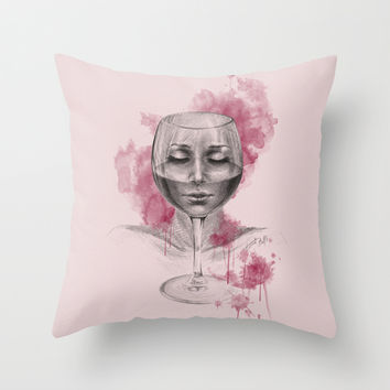 Till I disappear Throw Pillow by EDrawings38