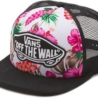 Vans Beach Girl Trucker Hat - hawaiian natural - Women's > Women's Clothing > Women's Accessories > Women's Hats & Beanies > Women's Hats