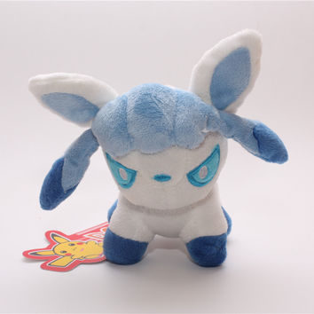 Cute Cartoon Pokemon Glaceon Plush Toys