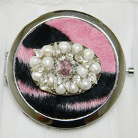 Compact Mirror Bridesmaids Gifts