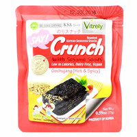 Roasted Seaweed in Spicy Gochujang Sauce by Woosung 0.59 oz
