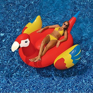 Giant Inflatable Parrot Pool Float