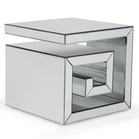 Eternal Cube End Table | Instruments Chaise | Living Room | Inspiration | Z Gallerie