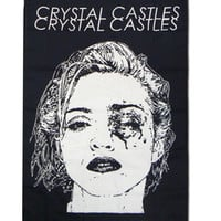 Crystal Castles Merchandise Store  - Crystal Castles  Miscellaneous  Black Eye Flag