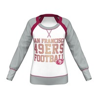 Majestic San Francisco 49ers Counter IV Fleece Sweatshirt - Women's