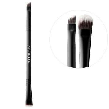 Sephora: SEPHORA COLLECTION : Eye - Angled Liner & Smudge Brush N°207 : eye-brushes-makeup-brushes-applicators-makeup