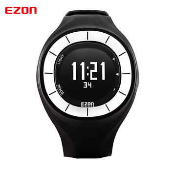 Women Digital-watch Hours Running Sport Watches Pedometer Calorie Counter Fitness for Women 5ATM Waterproof Digital Watch EZON