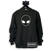 Alien Sweatshirt Sweater Crew Neck Shirt – Size S M L XL
