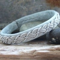 Pale Aqua Blue Swedish Lapland Bracelet