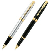 Baoer 388 High Quality Silver And Golden Clip Roller Ball Pen Business & School Supplies Hot