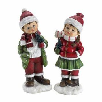 Holly & Noel Christmas Holiday Figurines