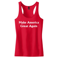 Make America Great Again Women's Racerback Tank Top