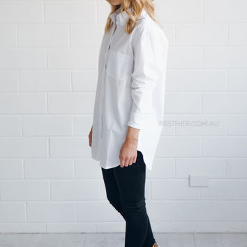 imonni fully equipped shirt - white