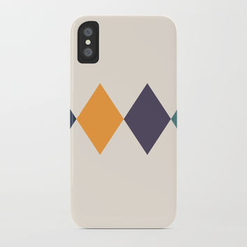 Shine Bright Like A Diamond iPhone Case by spaceandlines