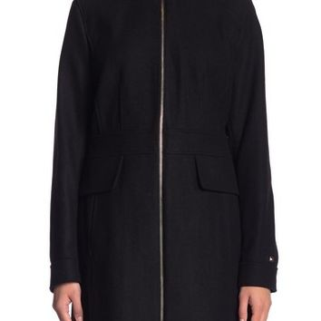 Tommy Hilfiger | Zip Wool Blend Coat | Nordstrom Rack