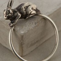 Lucky Rabbit Ring by Workhorse Silver