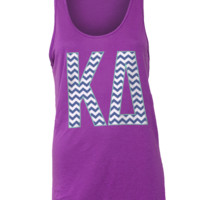 Adam Block Design » Kappa Delta Chevron Tank