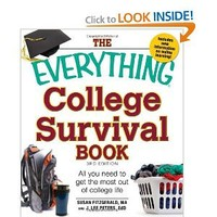 The Everything College Survival Book: All you need to get the most out of college life (Everything (School & Careers))
