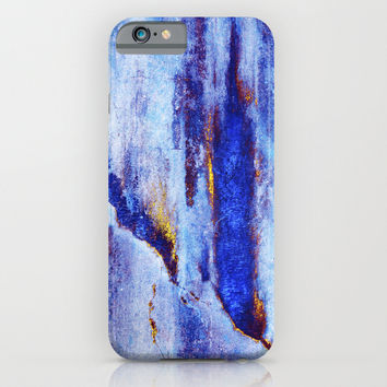 Let Go / Blue iPhone & iPod Case by Elisabeth Fredriksson