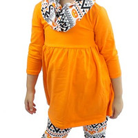 Pumpkin Aztec Outfit Toddler/Girls