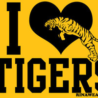 RINAWEAR.COM (3105) I Heart the Tigers