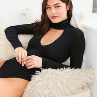 Out From Under Plunging Turtleneck Bodysuit - Urban Outfitters