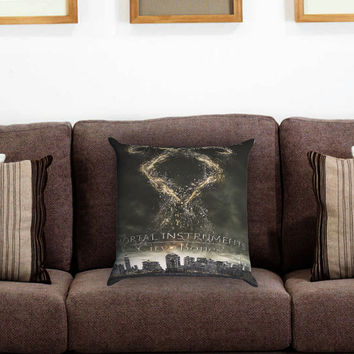The Mortal Instruments City Pillow Cover , Custom Zippered Pillow Case One Side Two Sides