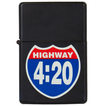 Highway 420 Refillable Lighter