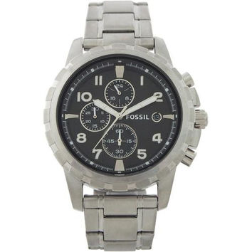 Fossil - FS4542P Dean Chronograph Stainless Steel Watch