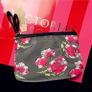 On Sale Hot Deal Hot Sale Beauty Lace Transparent Toiletry Kits Make-up Bag [12149128787]