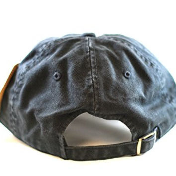 Pittsburgh Pirates Washed Cotton Twill Black Baseball Cap by American Needle