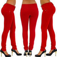 Sexy Womens High Waist Slim Fit Skinny Leggings Stretch Pants Jeggings Pencil Pants