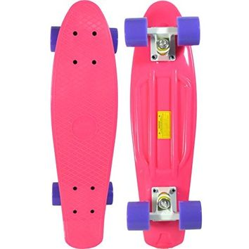 Skateboard (Hot Pink Deck)