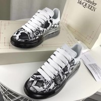 Alexander Mcqueen Graffiti Oversized Sneakers With Air Cushion Sole Reference #23 - Best Online Sale