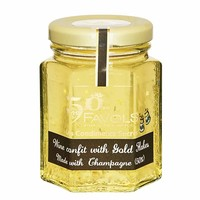 Favols - Champagne Confit with Gold Flakes, 3.8 oz. (110g)