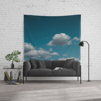 Sky and clouds 04 Wall Tapestry by VanessaGF