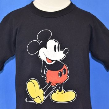 80s Mickey Mouse Disney t-shirt Youth Large