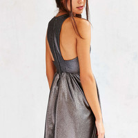 Kimchi Blue Shimmer Fit + Flare Dress - Urban Outfitters