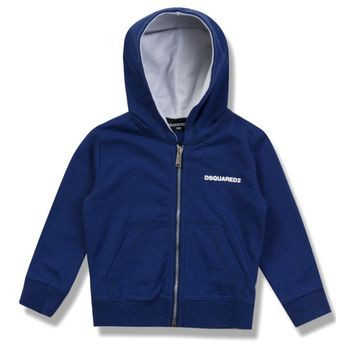 Dsquared2 Baby Boys Blue Hoodie
