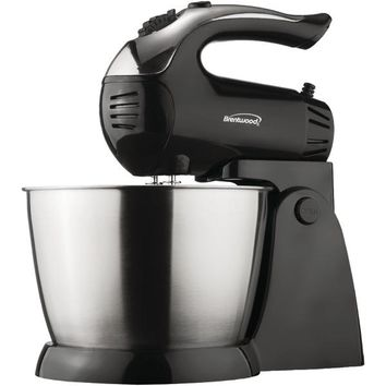 Brentwood Appliances SM-1153 5-Speed Stand Mixer with Stainless Steel Bowl