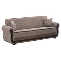 You should see this Newark Sleeper Sofa in Light Brown on Daily Sales!