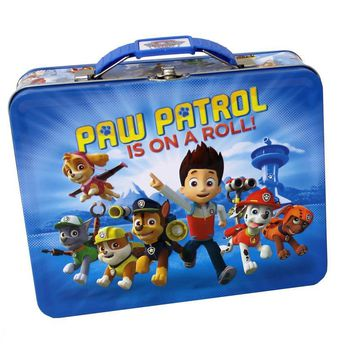 PAW PATROL ON A ROLL TIN BOX