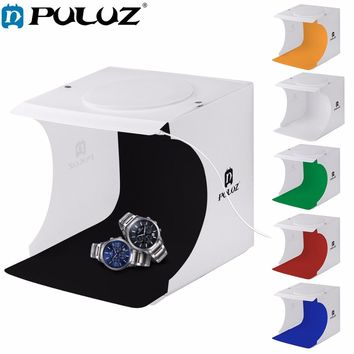 PULUZ 20 Mini Folding Studio Diffuse Soft Box Lightbox Photography Background Photo Studio box