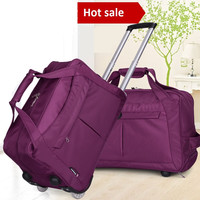 Carry on Luggage Trolley Duffel Bag for traveling