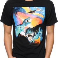 A-Lab Dinos From Mars Black T-Shirt