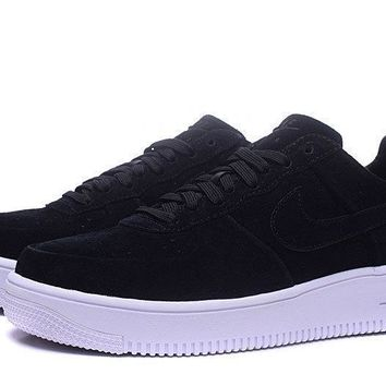 Nike Air Force 1 ULTRA Af1 Black For Women Men Running Sport Casual Shoes Sneakers