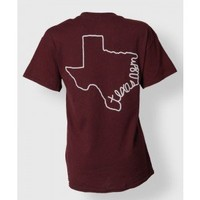 WRITTEN TEXAS S/S - T-Shirts - Tops - Womens