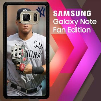 Aaron Judge New York W4977 Samsung Galaxy Note FE Fan Edition Case