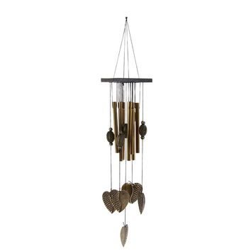 Antique Newly Amazing Love Heart 8 Tubes Relaxing Windchime Campanula Outdoor Living Yard Garden Decor Wind Chimes