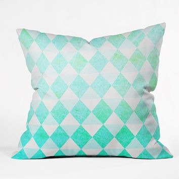Hello Twiggs Spring Triangles Throw Pillow